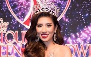 Yến Nhung lọt vào Top 3 Hoa hậu Du lịch quốc tế 2019