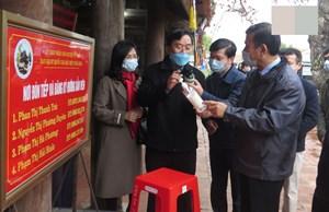 Thái Bình: Chủ tịch tỉnh phê bình xã, huyện lơ là phòng chống dịch