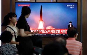 Triều Tiên phóng thử nghiệm 2 tên lửa đạn đạo mới