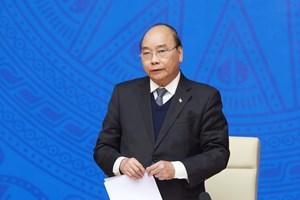 Thủ tướng Nguyễn Xuân Phúc điện đàm với Tổng thống Hàn Quốc Moon Jae-in