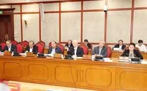 Bộ Chính trị làm việc với hai tỉnh Thừa Thiên-Huế và Đắk Lắk