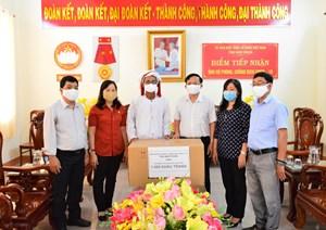 Ninh Thuận: Vận động đồng bào Chăm đón Tết Ramưwan lành mạnh, an toàn