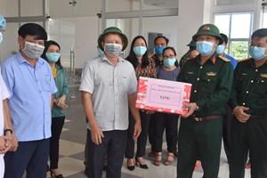 Thừa Thiên – Huế: Thăm hỏi, động viên lực lượng chống dịch Covid-19