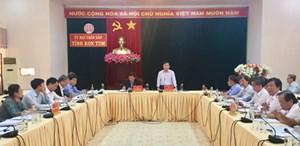BẢN TIN MẶT TRẬN: Đoàn Giám sát của UBTƯ MTTQ Việt Nam làm việc với UBND tỉnh Kon Tum