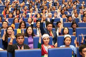Nghị quyết Đại hội đại biểu toàn quốc Mặt trận Tổ quốc Việt Nam lần thứ IX, nhiệm kỳ 2019-2024