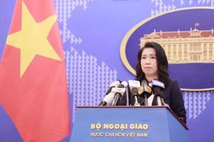 Việt Nam kiên quyết bảo vệ chủ quyền bằng các biện pháp hòa bình theo quy định của luật pháp quốc tế