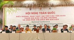 Các tổ chức tôn giáo cùng chung tay bảo vệ môi trường