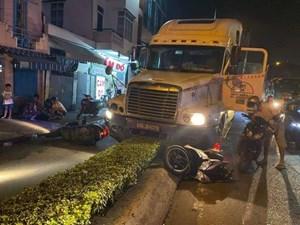 TP Hồ Chí Minh: Khởi tố, bắt tạm giam tài xế container gây tai nạn