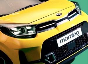 Lộ ảnh Kia Morning phiên bản nâng cấp 2021