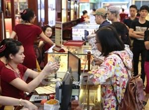 Giá vàng trong nước tăng, giảm không đồng nhất phiên mở cửa đầu tuần