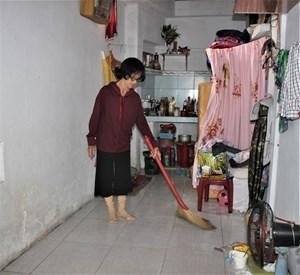 Quảng Nam: Cụ bà 67 tuổi sống trong ngôi nhà '4 không' chưa đến 7 m2