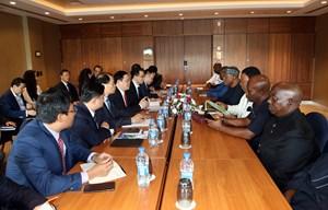 Phó Thủ tướng Vương Đình Huệ tiếp Hiệp hội doanh nghiệp Nigeria - Việt Nam