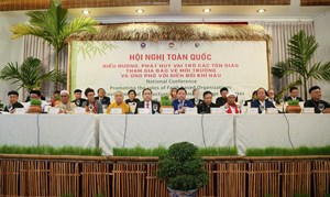Hội đồng Chức sắc Chăm Bàlamôn: Chung tay cùng các tôn giáo bạn tìm giải pháp bảo vệ môi trường, ứng phó với biến đổi khí hậu