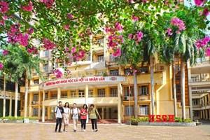 Trường ĐH Khoa học Xã hội và Nhân văn tuyển 1.850 chỉ tiêu