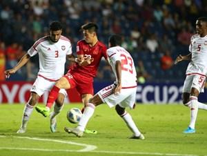 U23 Việt Nam - U23 UAE: Hài lòng với trận ra quân