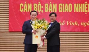 Ông Nguyễn Đức Trung chính thức làm Chủ tịch UBND tỉnh Nghệ An