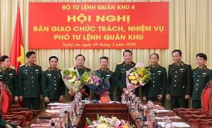 Tổng Giám đốc Tổng Công ty Xây dựng Trường Sơn được bổ nhiệm Phó Tư lệnh Quân khu 4