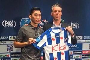 Đoàn Văn Hậu chính thức gia nhập SC Heerenveen, khoác áo số 15