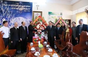 BẢN TIN MẶT TRẬN: Chủ tịch Trần Thanh Mẫn chúc mừng Lễ Giáng sinh tại tỉnh Đắk Lắk