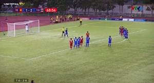 [VIDEO] Cận cảnh pha phạt đền gây tranh cãi trận U22 Việt Nam - U22 Thái Lan