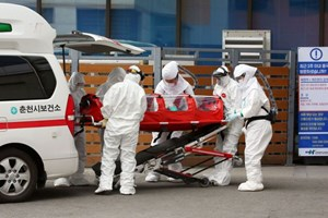 Thêm gần 500 ca, số người nhiễm corona ở Hàn Quốc vọt lên hơn 4.800