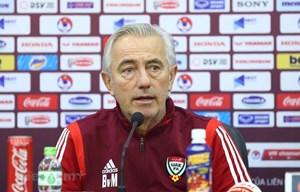 Huấn luyện viên đội tuyển UAE: 'Việt Nam mạnh nhất bảng G'