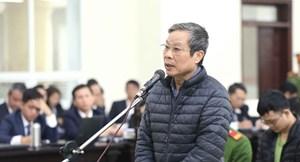 Xử vụ MobiFone mua 95% cổ phần AVG: Bị cáo Nguyễn Bắc Son hứa sẽ nộp lại 3 triệu USD nhận hối lộ