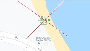 Yêu cầu Google Maps gỡ bỏ chú thích sai ở bãi biển tỉnh Phú Yên