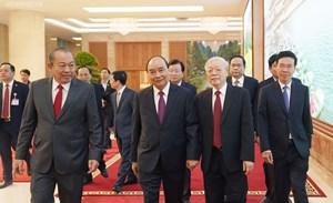 [ẢNH] Thủ tướng chủ trì Hội nghị Chính phủ với các địa phương