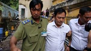 Nguyên Phó Viện trưởng Viện KSND TP Đà Nẵng Nguyễn Hữu Linh hầu tòa phúc thẩm