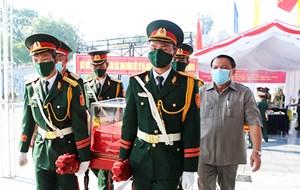 Quảng Trị: Đón nhận 16 hài cốt liệt sỹ quân tình nguyện hy sinh tại Lào