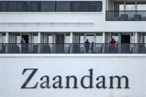 Du thuyền Zaandam tiếp tục tìm cảng đỗ sau khi có người mắc Covid-19