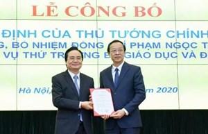 Chủ tịch tỉnh Lạng Sơn làm Thứ trưởng Bộ Giáo dục và Đào tạo