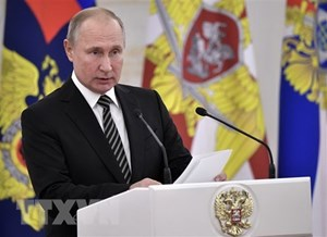 Tổng thống Nga chỉ thị tăng cường tiềm lực hải quân