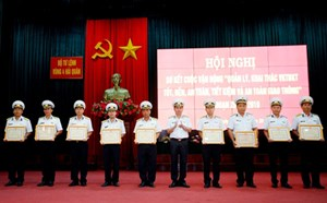 Khánh Hòa: Vùng 4 Hải quân sơ kết Cuộc vận động 50 giai đoạn 2015-2019