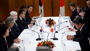Nhật - Hàn 'chốt' lịch thảo luận về kiểm soát xuất khẩu