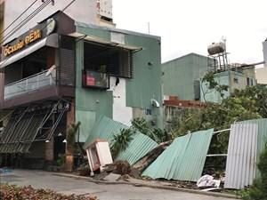Bình Định, Phú Yên thiệt hại nặng do bão số 5