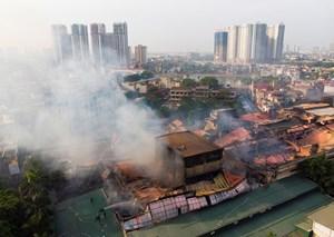 Bộ Tài nguyên Môi trường khuyến cáo người dân sau vụ cháy nhà máy Rạng Đông