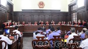 Hội đồng Thẩm phán biểu quyết bác kháng nghị giám đốc thẩm