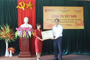 Phú Thọ: Khen thưởng các tập thể, cá nhân trong công tác phòng chống dịch Covid-19