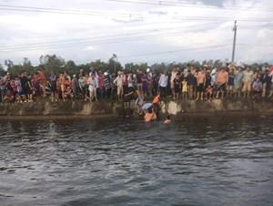 Quảng Nam: Phát hiện thi thể nam thanh niên trôi nổi trên kênh Phú Ninh
