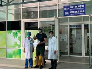 Thêm 5 bệnh nhân mắc Covid-19 khỏi bệnh trong sáng ngày 4/4