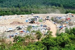 Nan giải thi công nhà máy xử lý rác - Kỳ 1: Người dân phản đối, ngăn cản thi công
