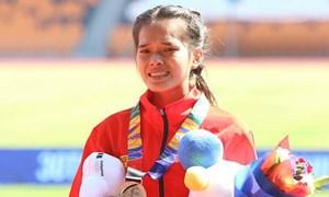 SEA Games 30: Hồng Lệ giành huy chương đầu tiên cho điền kinh Việt Nam