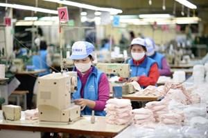 Hỗ trợ kinh phí mua khẩu trang, nước rửa tay cho người lao động
