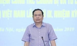 BẢN TIN MẶT TRÂN: Hội nghị rút kinh nghiệm công tác chuẩn bị và tổ chức Đại hội đại biểu MTTQ Việt nam lần thứ IX, nhiệm kỳ 2019-2024