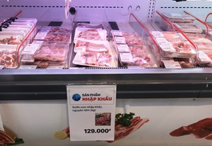 Nhập khẩu, có hạ nhiệt giá thịt lợn trong nước?