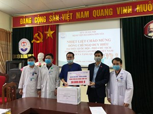 Công đoàn Việt Nam nắm bắt tình hình phòng dịch Covid-19