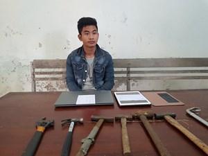 Quảng Nam: Bắt giữ thanh niên chuyên cậy cửa ô tô trộm cắp tài sản