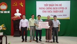 Một phụ nữ ở TP Hồ Chí Minh ủng hộ Thừa Thiên - Huế 100 triệu đồng phòng, chống dịch